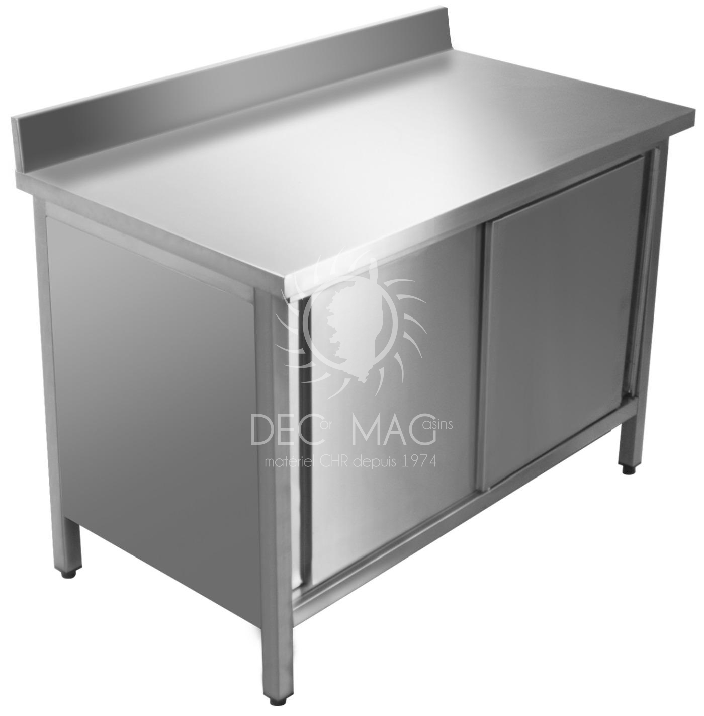 Decor magasin vente table armoire inox adoss e 1200x700 for Table armoire inox