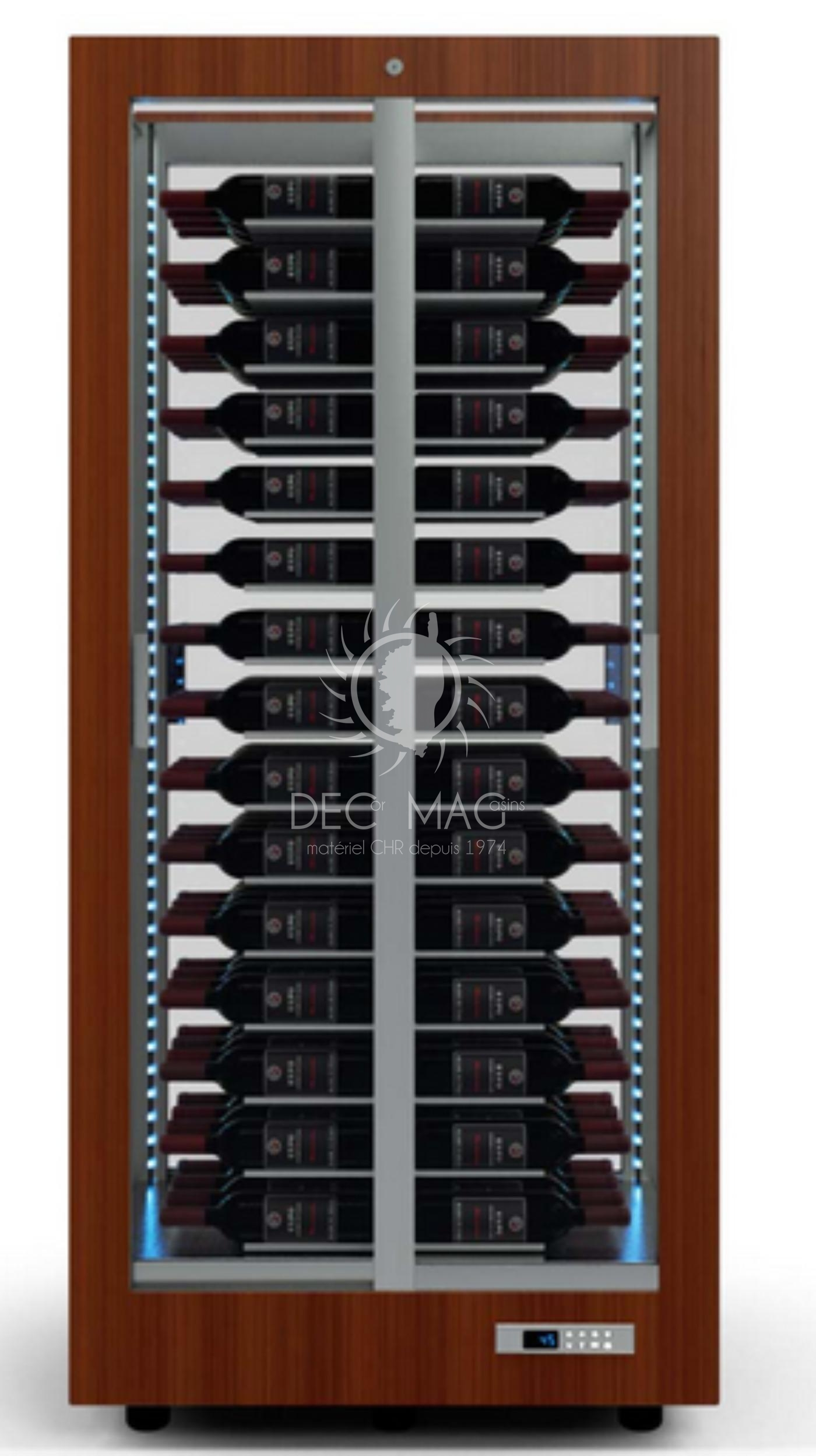 decor magasin vente cave vins sp ciale haute merisier 120 bouteilles froid bastia en corse. Black Bedroom Furniture Sets. Home Design Ideas